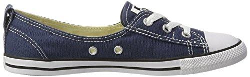 Converse Unisex-Erwachsene All Star Ballet Lace Sneaker, Blau (Navy), 39 EU - 6