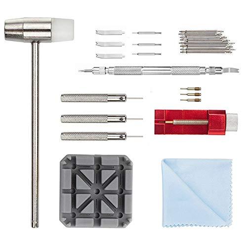 Uhrenwerkzeug Stiftausdrücker Uhrenarmband Werkzeug - 11tlg Uhrmacherwerkzeug Armband Reparatur Werkzeug Set (11 pcs)