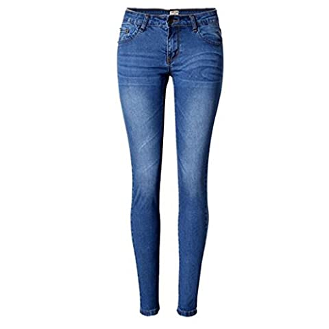 Wgwioo Womens Jeans Disco Low Waisted Skinny Denim Stretchy Slim