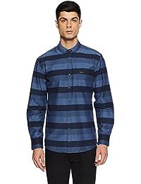 Wrangler Men's Printed Regular Fit Casual Shirt