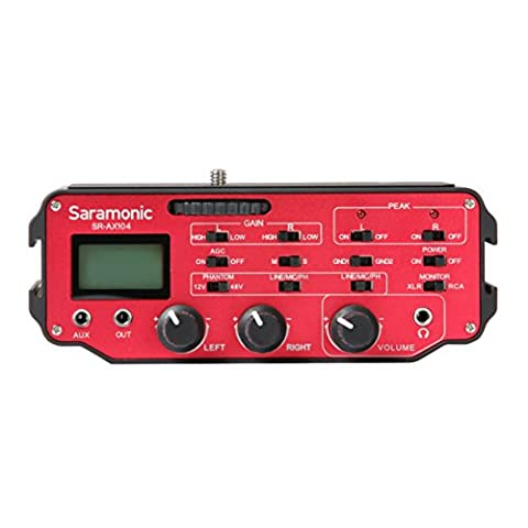 Saramonic SR-AX104 2-Channel Active XLR Audio