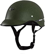 Habsolite HB-MWG2 Mini Wrinkle All Purpose Safety Helmet with Quick Release Strap for Men & Women (Green,