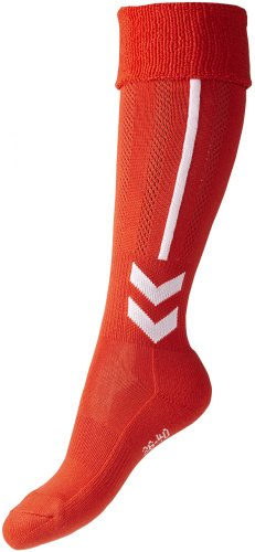 Hummel Socken Classic Football Socks Fire Red/White