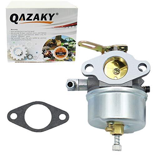 QAZAKY verstellbare vergaser ersatz für Tecumseh 632107 632378 632536 640084 640105 640299 3.5hp 4te 5hp hsk40 hsk50 hssk40 hssk50 hssk55 lh195sa