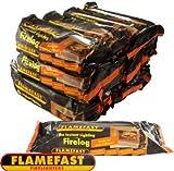 FLAMEFAST INSTANT-LIGHT SMOKELESS FIRE LOG BURNS FOR 2-3 HOURS (CASE 12)