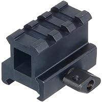 UTG 1' 3-Ranura canalización Vertical/instalación de Refuerzo 25mm High Riel Picatinny/Tejedor MNT-rs10s3