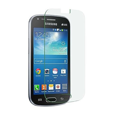 2 x itreu Samsung Galaxy S Duos 2 S7582 Premium Panzerglas Echt Verbundglas Glas Panzerfolie (Samsung Galaxy S Duo 2)
