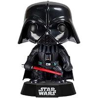 Funko - POP! Bobble Colección Star Wars - Figura Darth Vader (2300)