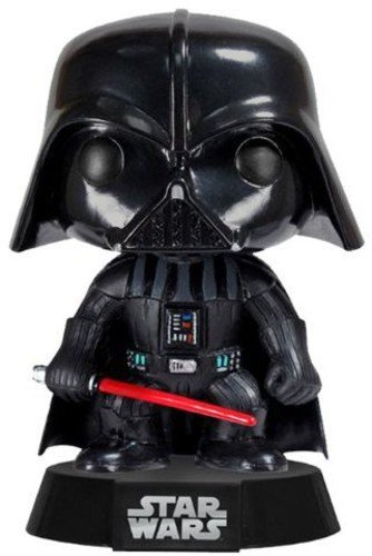 Funko 2300 POP! Wackelkopf: Star Wars: Darth Vader (Wars Wackelkopffigur Star)