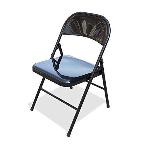 Chaise pliante, plaque en acier Activité de plein air pour la formation Chaise de conférence Chaise de bureau Chaise de bureau Chaise pliante en acier