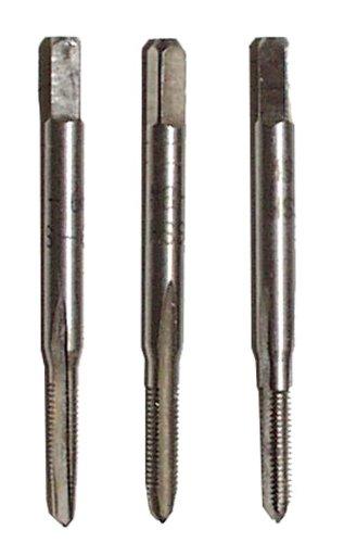 Connex COXT672325 Hand-Gewindebohrersatz HSS, nach DIN 352 gefertigt, 3-teilig, Gr. M 3-2,5 mm