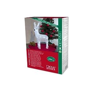 Konstsmide Acrylic Reindeer 23cm, LED