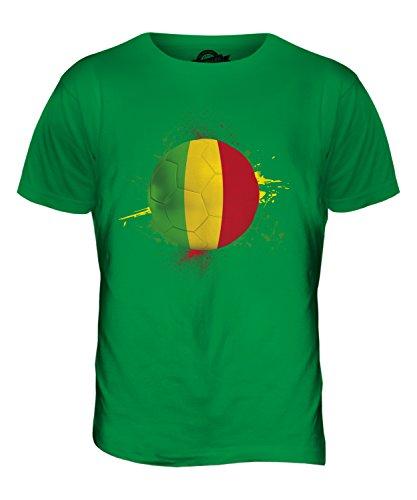 CandyMix Mali Calcio T-Shirt da Uomo Maglietta Verde