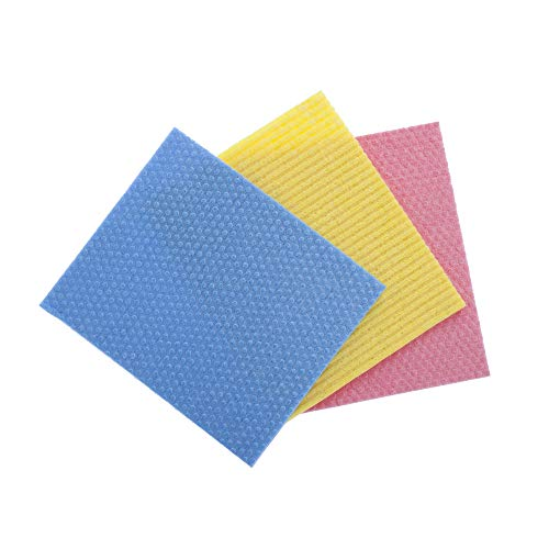 Gala Sponge Wipe (Multicolor, 5 Pieces Set)