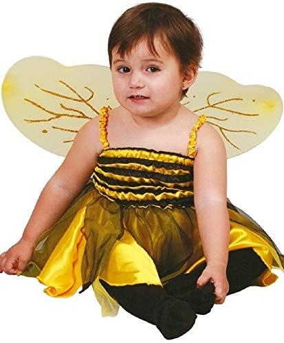 Fancy Me Baby Mädchen Hummel Insekten Tier mit Flügeln Mini Tier Verkleidung Kostüm Kleidung 18-24 Monate (Baby Mini-me Kostüm)
