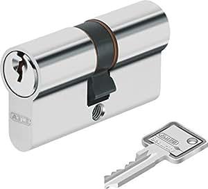 ABUS Cylindre de porte C73N Longueur 40/50mm contre avec 8 clé