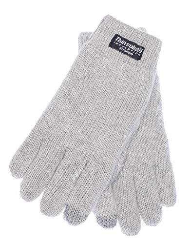 EEM guanti per bambini FELIX, Thinsulate imbottitura termica, 100% cotone, Touchscreen