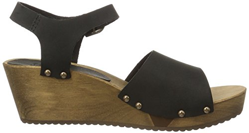 Sanita - Olisa Wedge Flex Sandal, Sandali Donna nero (nero)