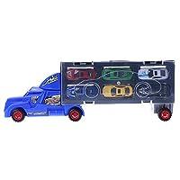 13pcs camion Cars piccoli modelli in lega Toy Car bambini giocattoli educativi simulazione  Descrizione:  100% nuovo e di alta qualità  1pc Long Truck, include 12 auto in metallo.  Ha una maniglia in alto in modo che i bambini possano portare...