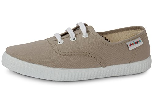Victoria Inglesa Lona, Baskets Basses mixte adulte Beige