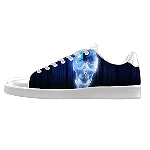 Custom skull Men's Canvas shoes Schuhe Lace-up High-top Sneakers Segeltuchschuhe Leinwand-Schuh-Turnschuhe