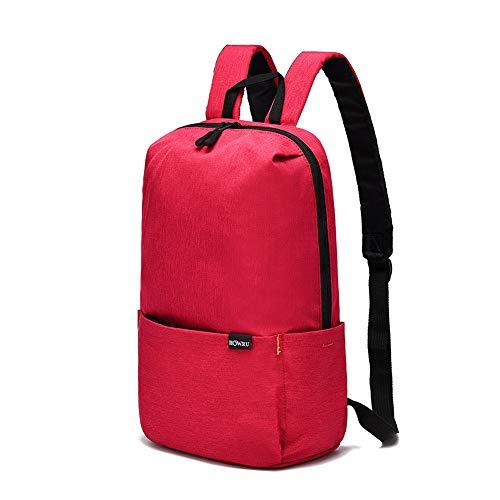 Zaino zaino da viaggio semplice in nylon per notebook con borsa multifunzione casual