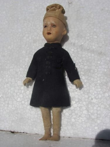 Early & Rare Porcelain Doll Toy, Made in Japan