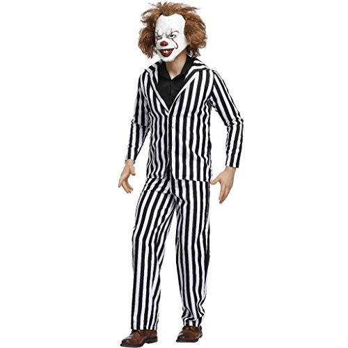 Plus Size Herren Kostüm Anzug für Erwachsene Das Halloween Cosplay Kostüm Dress Up Outfit