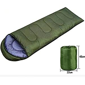 Outdoor Sleeping Bags Summer Spring Envelope Type Office Lunch Break Army Green