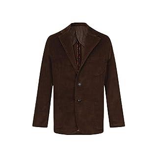 Alexanders of London Mens Jumbo Corduroy Jacket / Blazer - Chocolate - Size 48 Regular