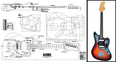 ar E-Gitarre-Full-Scale Print ()