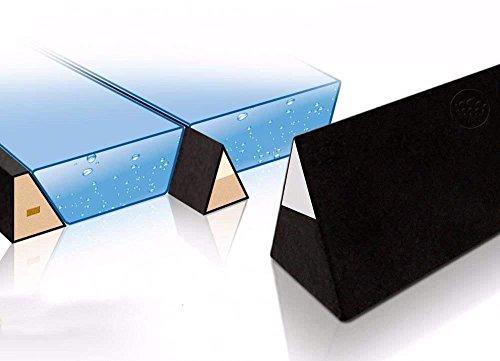 Ultra Wellenbrecher Trennkeil für Wasserbetten 100% wirksame Trennwand Trennung Isolation (für 220 cm (real 208 cm)) - Wasserbett-rahmen
