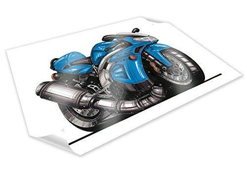 falco poster Koolart Aprilia Falco Motorrad Poster Druck A2 A3 Größe Personalisierter Bild - A2