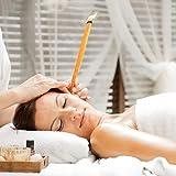 Healifty 12 Stücke Ohrkerzen Ohrenkerzen Ohrwachs Kerze mit Sicherheits-Filter zur Reinigung - 8