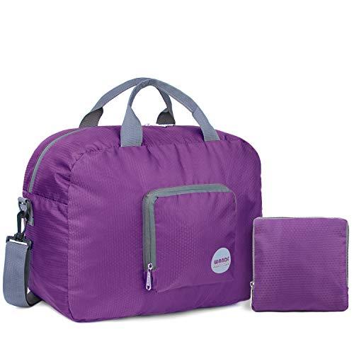 WANDF Foldable Travel Duffel Bag Super Lightweight