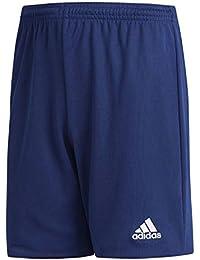 adidas Parma 16 Shorts Pantalón Corto, Unisex niños, Dark Blue/White, 140