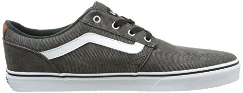 Vans Chapman Stripe, Baskets Basses Homme Noir (T&L black/white)