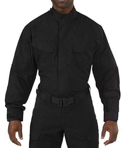 5.11 Herren Stryke TDU Shirt Langarm Schwarz Größe 3XL