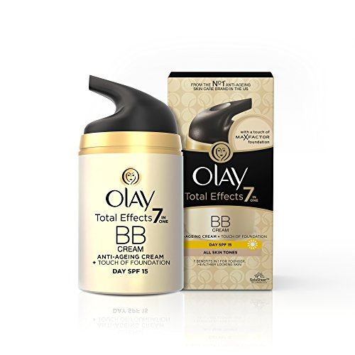 Olay Total Effects 7-in-1 Anti-Ageing BB Day Cream with a Touch Of Foundation SPF15, 50g