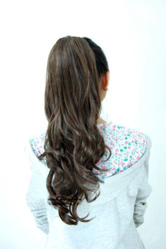 pony-tail-hair-extension-19-inch-dark-brown-by-perfect-for-a-party