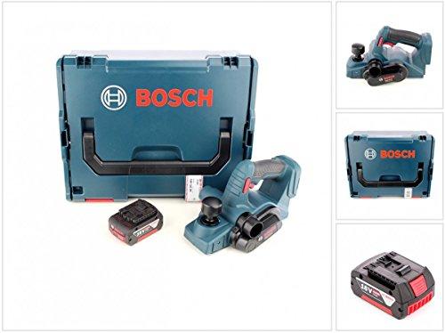 Bosch GHO 18 V-LI Professional Akku Hobel in L-Boxx und 1 x GBA 6 Ah Akku
