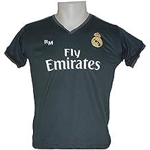 Real Madrid FC Camiseta Infantil Réplica Segunda Equipación 2018/2019 ...