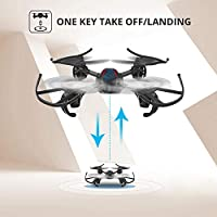 Holy Stone HS170G Red Mini RC Quadcopter Drone with Altitude Hold Function, Headless Mode, 3D Flips, One Key Engine Start Emergency Stop