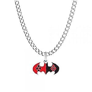 licence officielle bijoux collier DC Batman Joker Harley Quinn