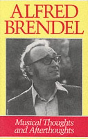 Portada del libro Musical Thoughts and Afterthoughts by Alfred Brendel (1998-01-24)
