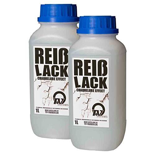 Reisslack/Krakelierlack / crackle Medium 2l - für Vintage und Antik-Effekte - Antik-Lack