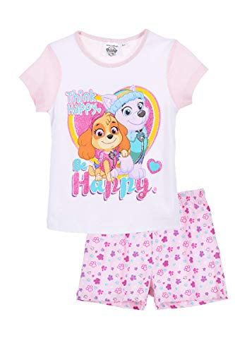 Pyjama kurzer Schlafanzug (Hellrosa, Größe 98 (3 Jahre)) ()