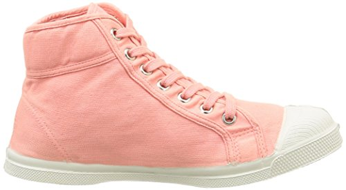Bensimon Tennis Mid, Baskets Hautes femme Rose (442 Rose)