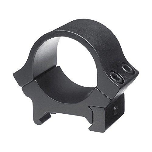 b-Square 1Sport Utility Ringe, Standard Dovetail-Low Rise, Schwarz Matt Finish -