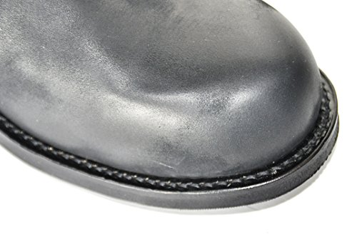 Tony Mora  Biker Boots Modell 1264 Nubuk Brash Negro, Boots biker mixte adulte Noir - Noir